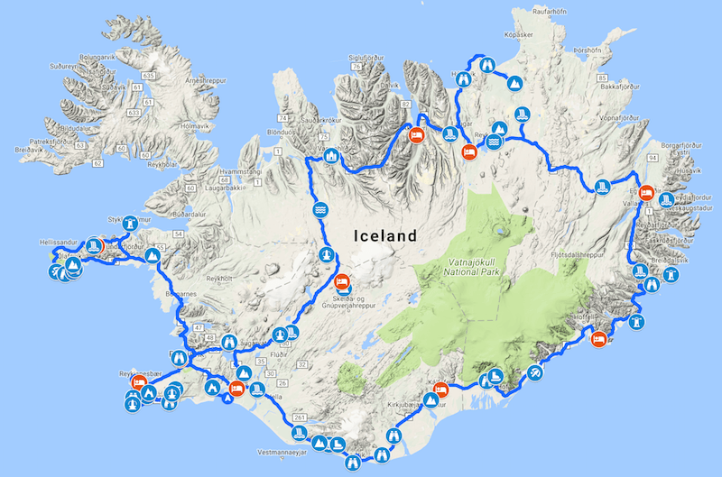 Iceland Vacation 2018 · Aras\' website